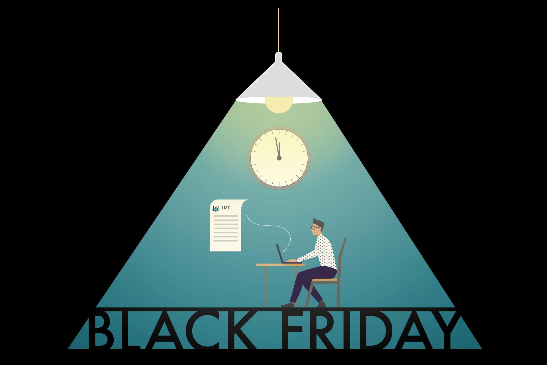 Il Black Friday 2019 di L+V Design