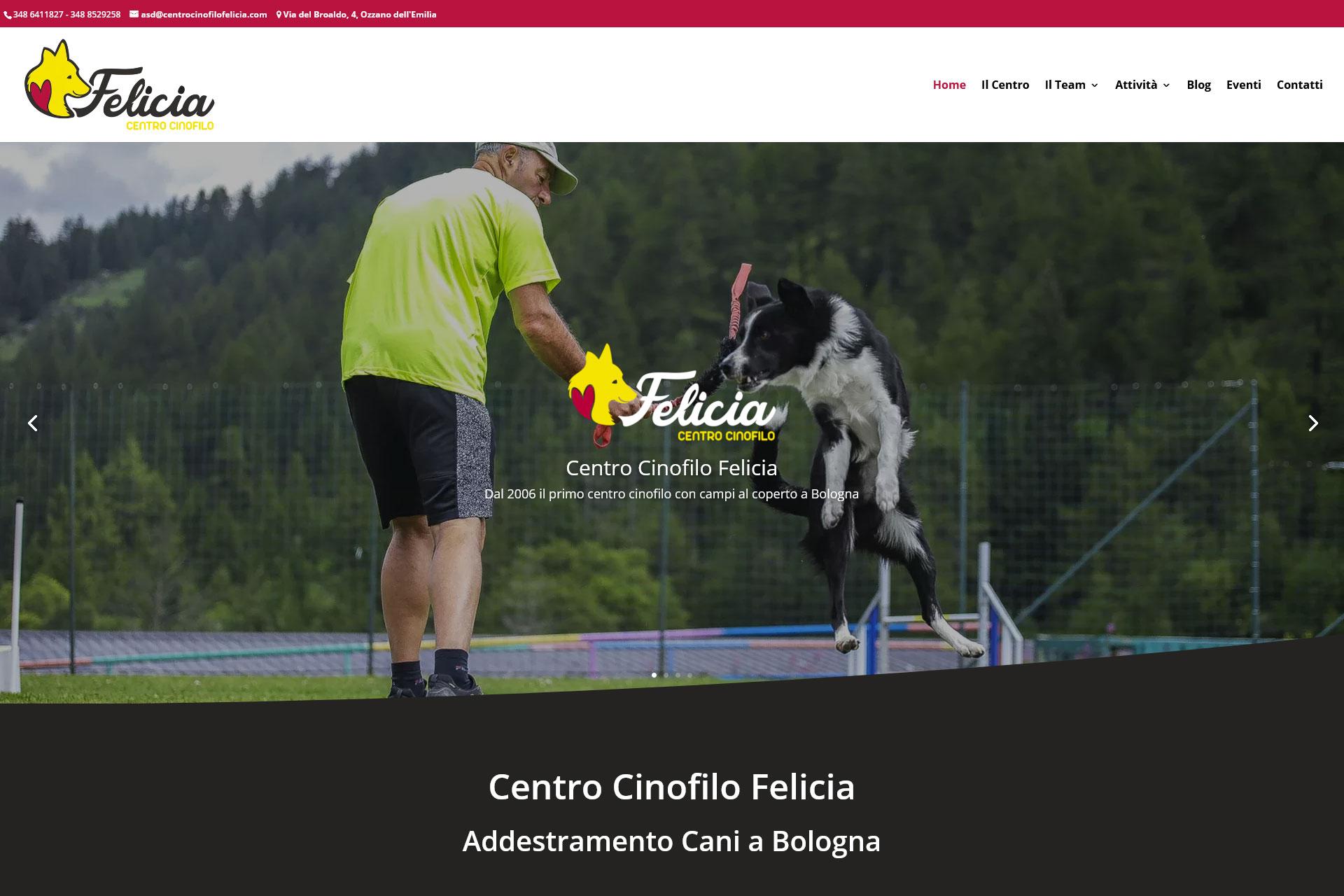 Centro Cinofilo Felicia Sito Web
