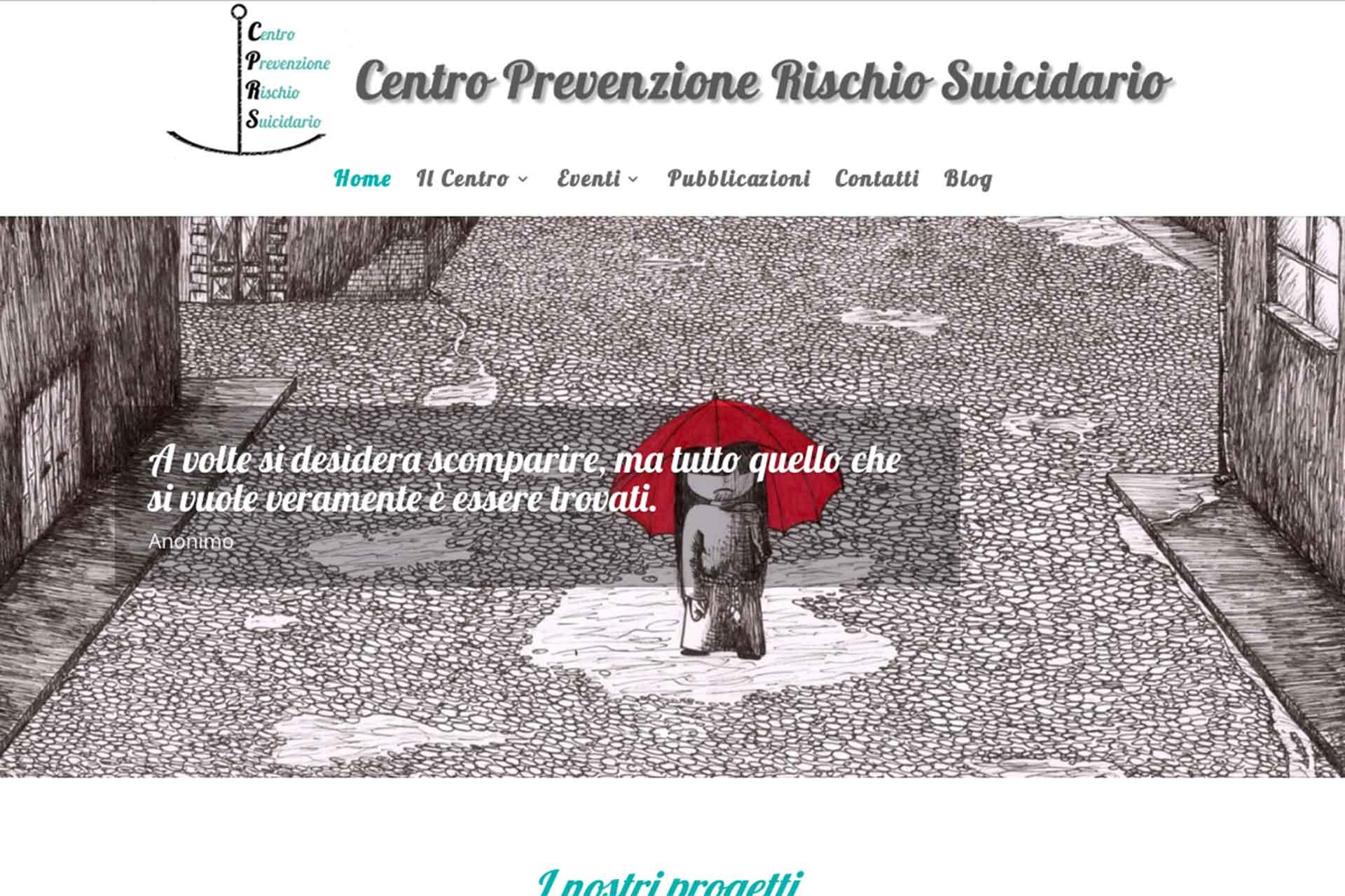 Centro Prevenzione Rischio Suicidario Sito Web