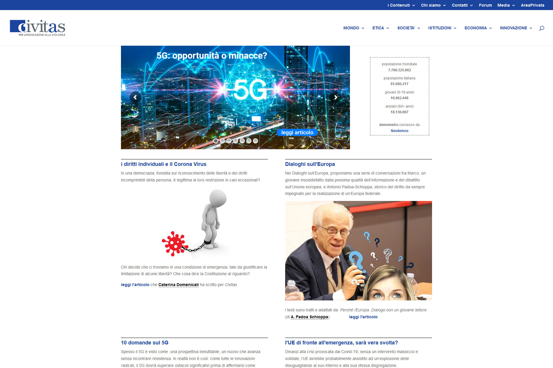 Civitas Schola Sito Web