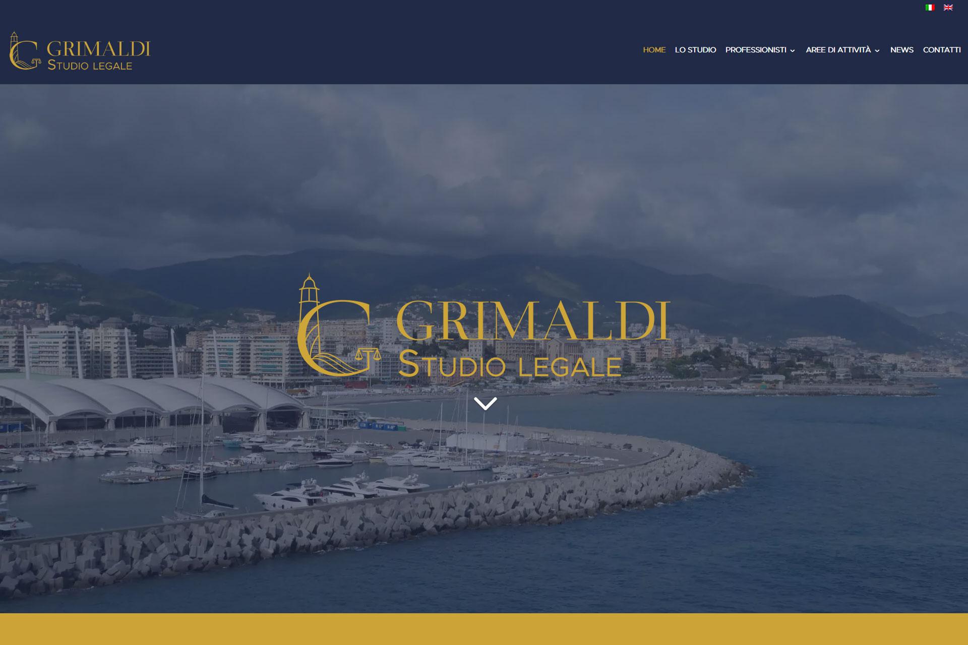Grimaldi Studio Legale Sito Web