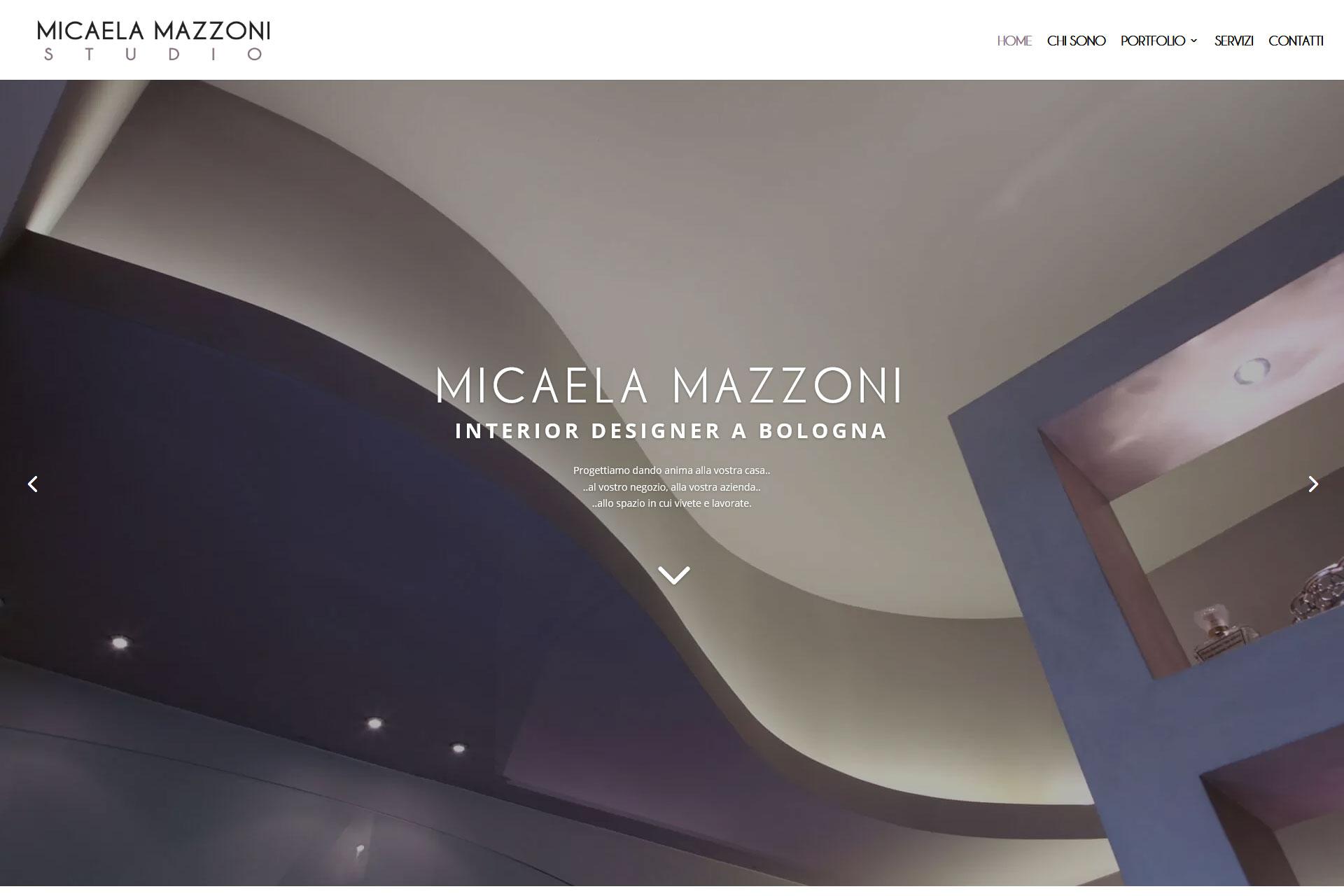 Micaela Mazzoni Studio Sito Web