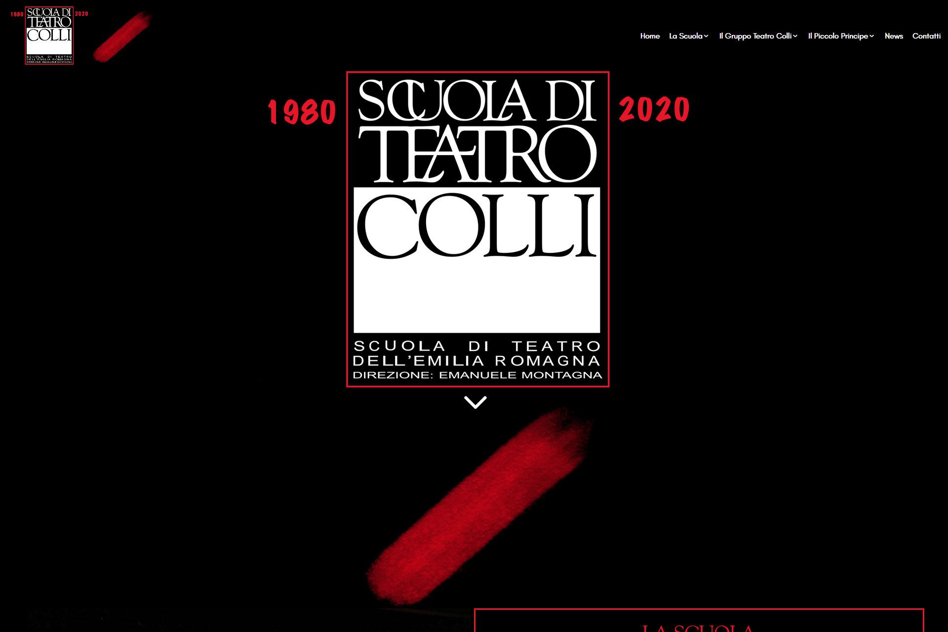 Scuola di Teatro Colli Sito Web