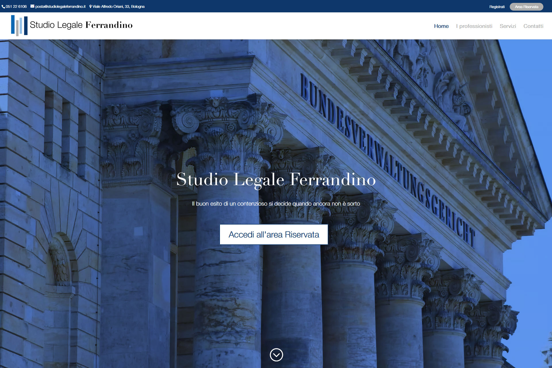 lv-design-realizzazione-siti-web-bologna-portfolio-studio-legale-ferrandino-slide-1
