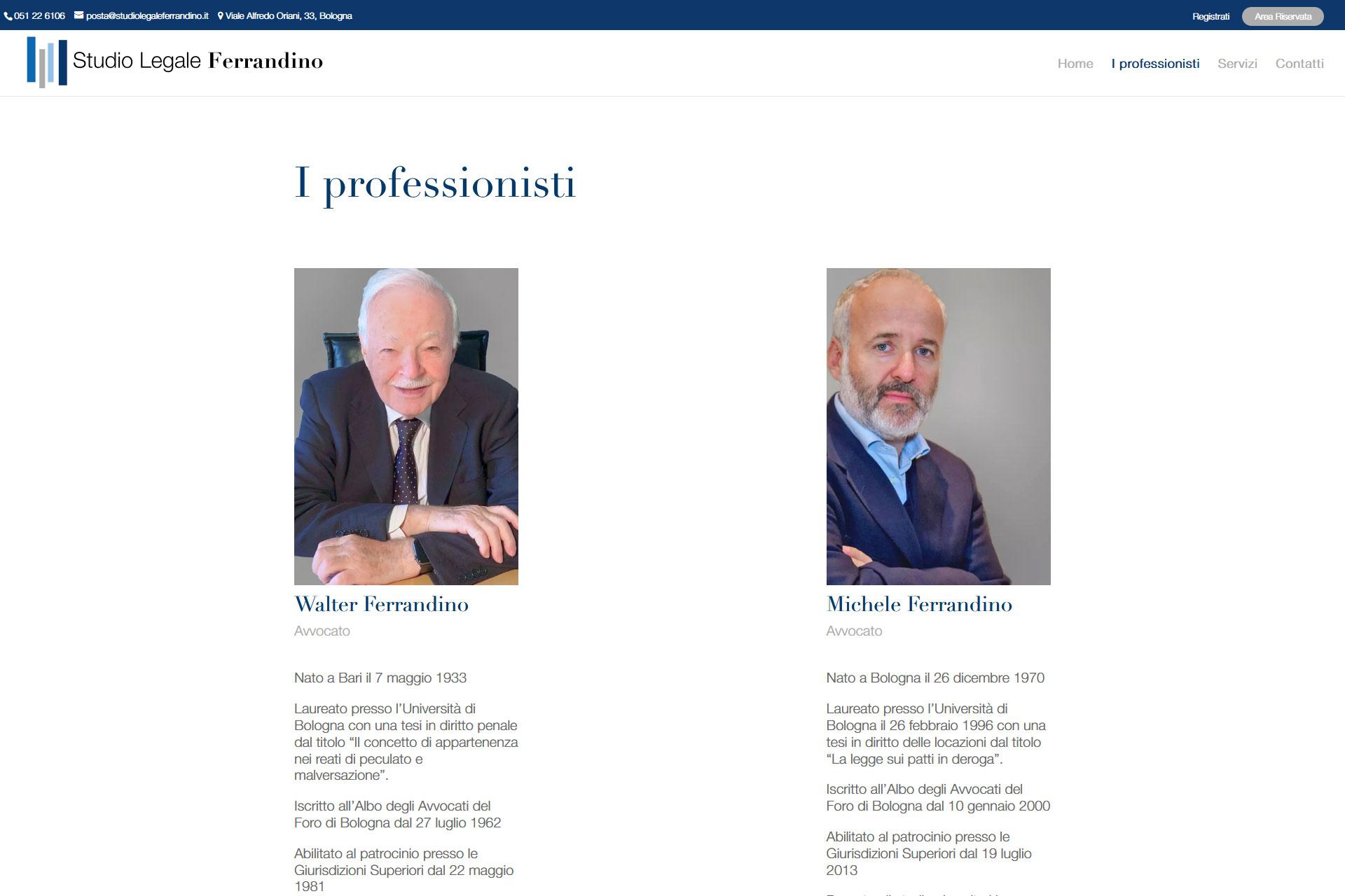 lv-design-realizzazione-siti-web-bologna-portfolio-studio-legale-ferrandino-slide-2