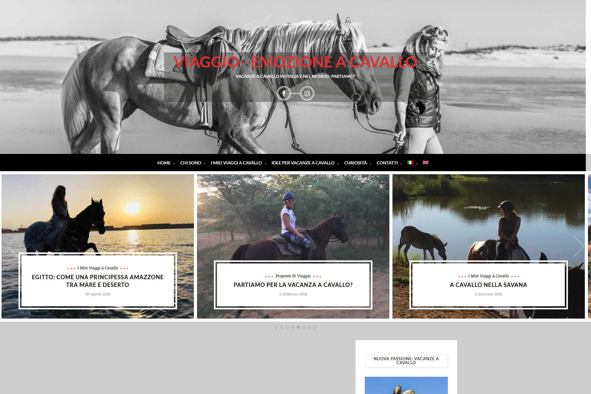 Viaggio emozione a cavallo Blog