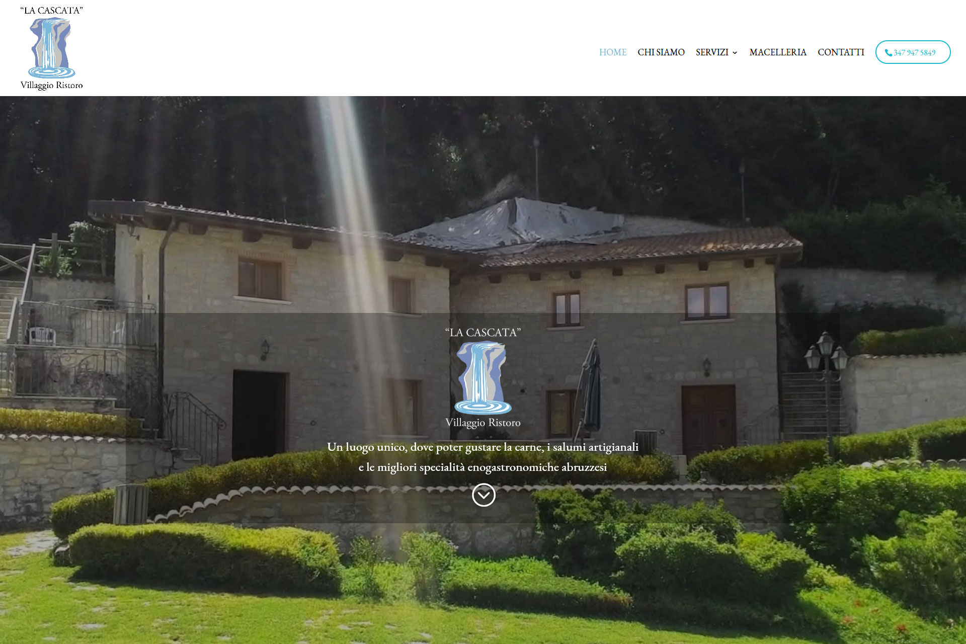 lv-design-realizzazione-siti-web-bologna-portfolio-villaggio-ristoro-la-cascata-slide-1