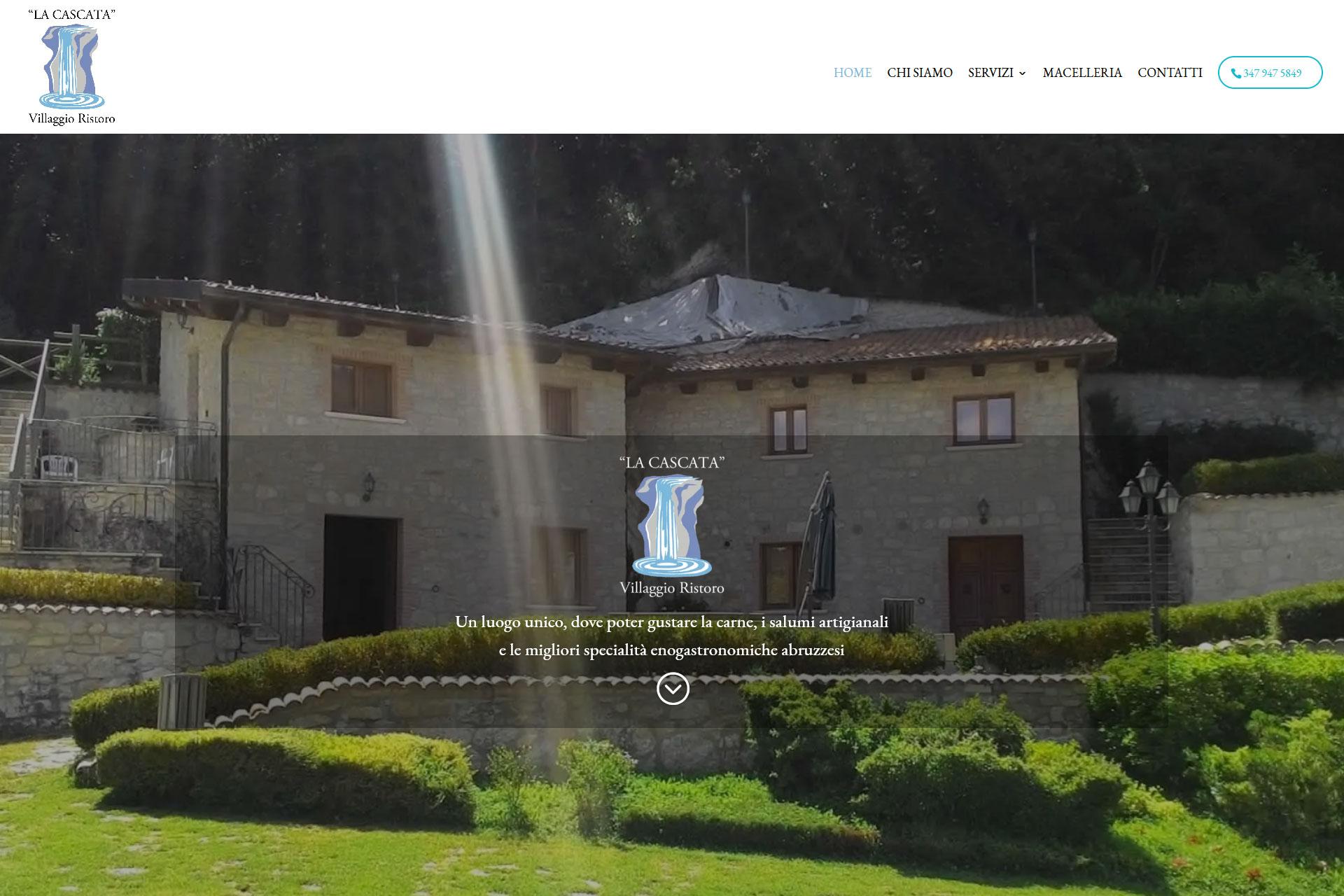 Villaggio Ristoro La Cascata Sito Web