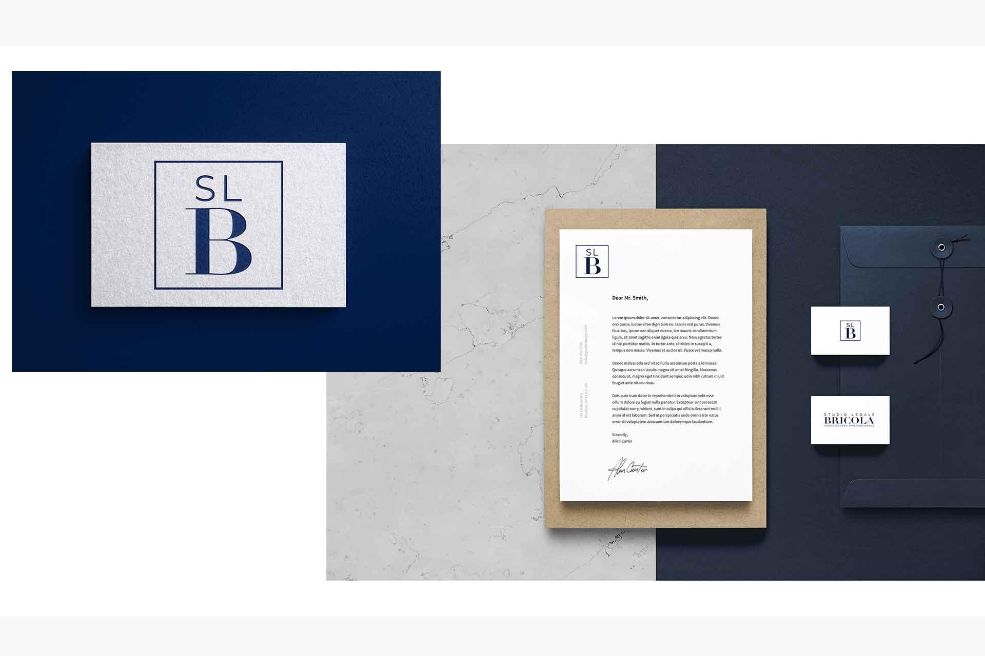 Studio Legale Bricola Immagine Coordinata